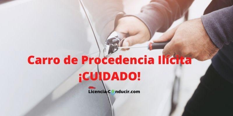 Carro de Procedencia Ilícita ¡CUIDADO!