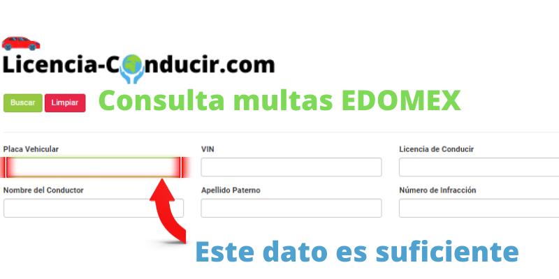 Consulta multas EDOMEX