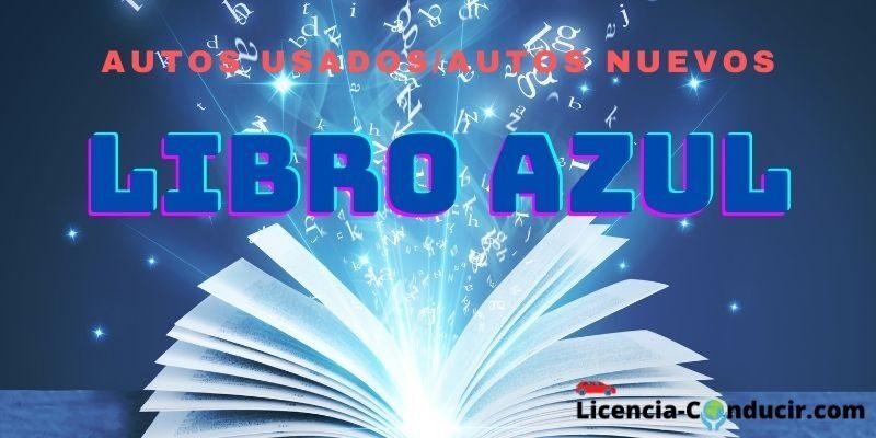 Libro Azul licencia conducir México