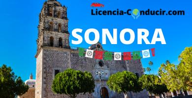 Licencia de conducir Sonora