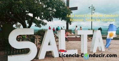 Saca turno licencia conducir salta argentina