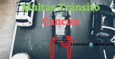 Tránsito Cancún multas