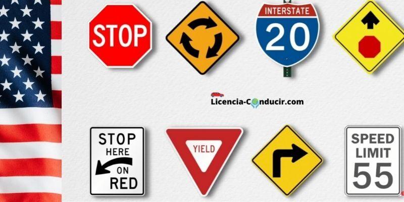 señales de trafico estados unidos
