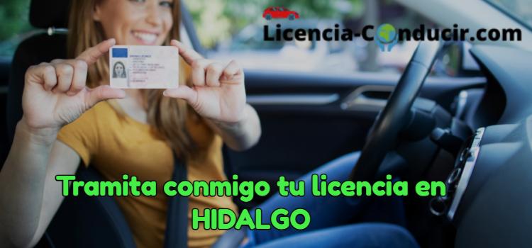 renovar licencia de conducir en hidalgo